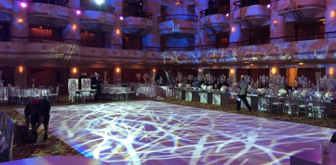 custom dance floor graphic connecticut