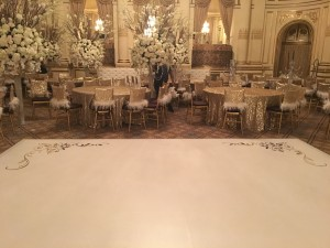 plaza wedding corner design - Bombshell Graphics
