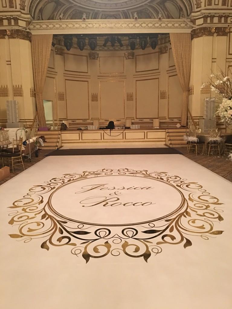 plaza wedding monogram - Bombshell Graphics