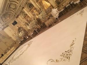 plaza wedding side view - Bombshell Graphics